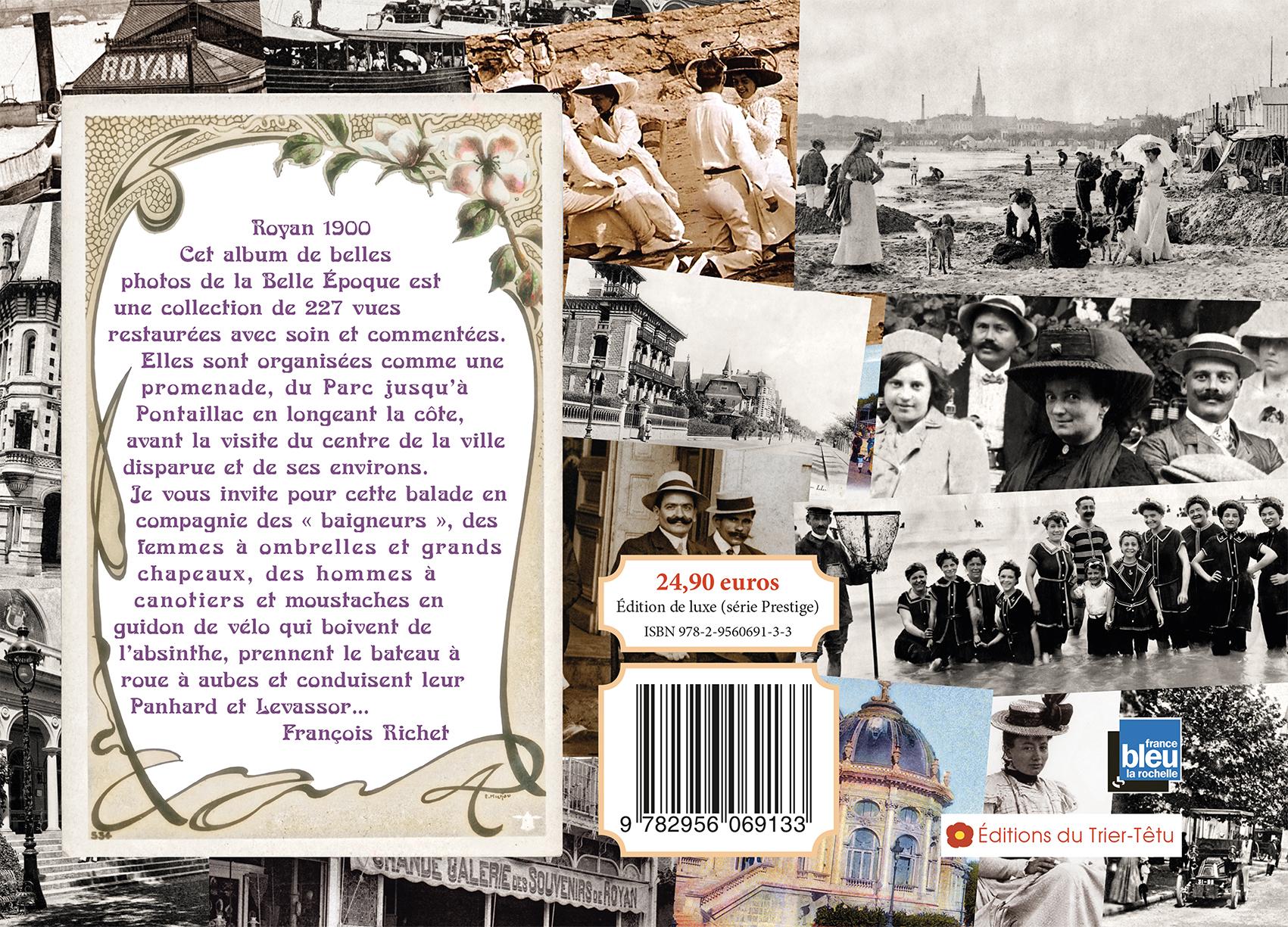 Royan 1900 le livre, présentation