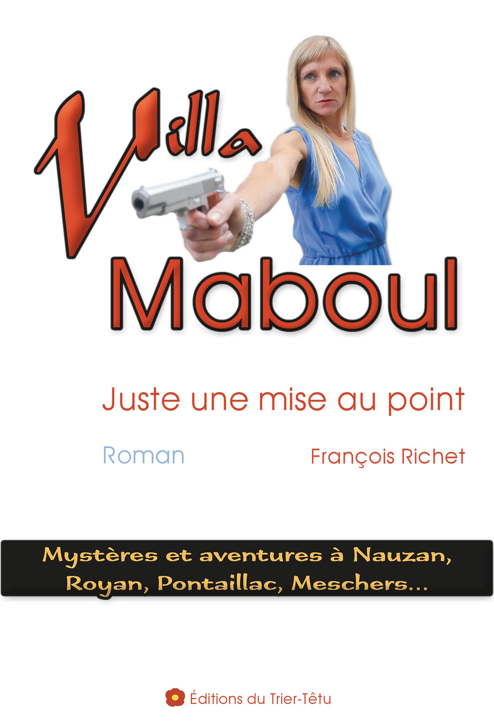 Livre Villa Maboul, couverture